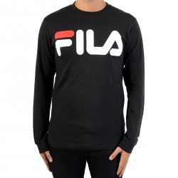 Tee Shirt Fila Classic Logo LongSleeve 680485 Black 002