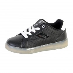 Basket Geox Enfant Kommodor Boy J745PB 0BCBU C0504 Black/White