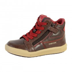 Basket Geox Enfant J Arzach Boy J744AF 0BCCL C0752 Coffee Dark Red