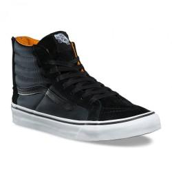 Chaussure Vans SK8-Hi Slim Zip Boom Boom Black / True White