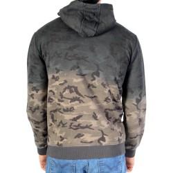 Sweat Zippe Redskins Junior Armyhood Camouflage