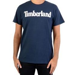 Tee Shirt Timberland Brand A1LAO433 Dark Sapphir