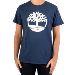 Tee Shirt Timberland Brand Tree A1LAD433 Dark Sapphir
