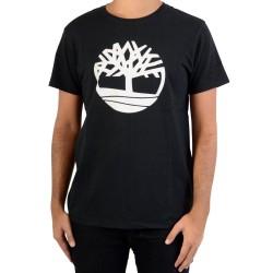 Tee Shirt Timberland Brand Tree A1LAD001 Black
