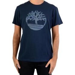 Tee Shirt Timberland DNST Camo A1OII433 Dark Sapphir