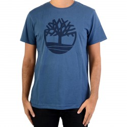 Tee Shirt Timberland Kennebec RVR Tree A1LAD288 Dark Denim