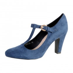Chaussure Salome The divine Factory TDF2103 Marine