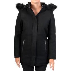Manteau Le Temps Des Cerises Clarra Noir