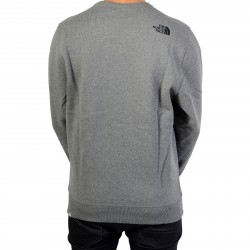 Sweat The North Face Drew Peak Crew T92ZWRJBV TNF Medium Grey
