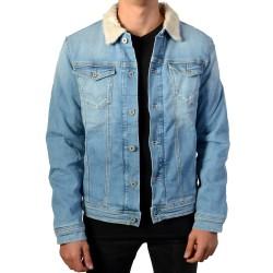 Blouson Pepe Jeans Enfant Legendary Shepherd PB400624GJ3 Denim 000