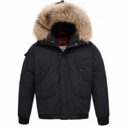 Parka Helvetica Anchorage Original Edition Black