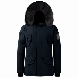 Parka Helvetica Expedition Men Black Edition Marine