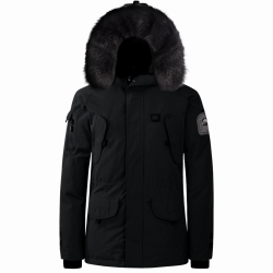 Parka Helvetica Ewarm Expedition Men Black Edition Noir