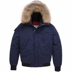 Parka Helvetica Anchorage Original Edition Marine