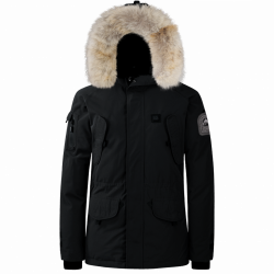 Parka Helvetica Ewarm Expedition Men Premium Edition Noir