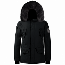 Parka Helvetica Expedition Men Black Edition Noir