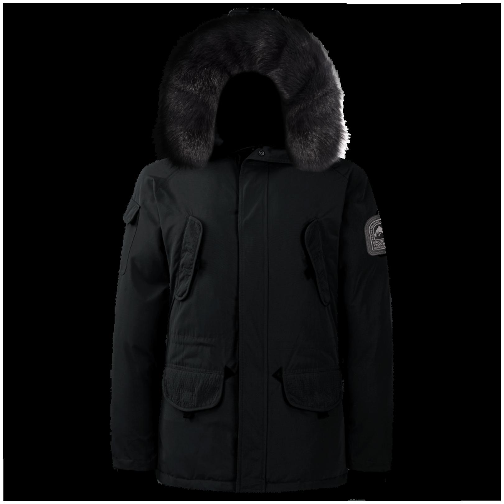 Parka Helvetica Expedition Men Black Edition Noir