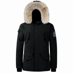 Parka Helvetica Expedition Men Premium Edition Noir