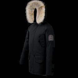 Parka Helvetica Expedition Men Premium Edition Noir