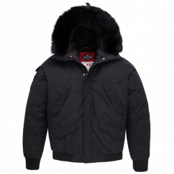 Parka Helvetica Anchorage Black Edition Noir