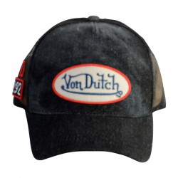 Casquette Von Dutch MC92 Grey/Red