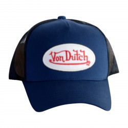 Casquette Von Dutch BM Navy White
