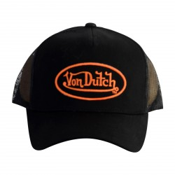 Casquette Von Dutch Matt01 Black Orange