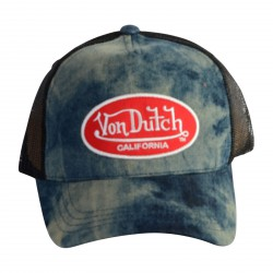 Casquette Von Dutch MC92 Denim/Red
