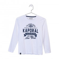 Tee Shirt Kaporal Enfant Nodog Optical White