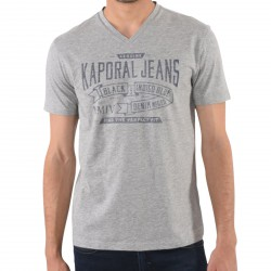Tee Shirt Kaporal Maker Grey Melanged