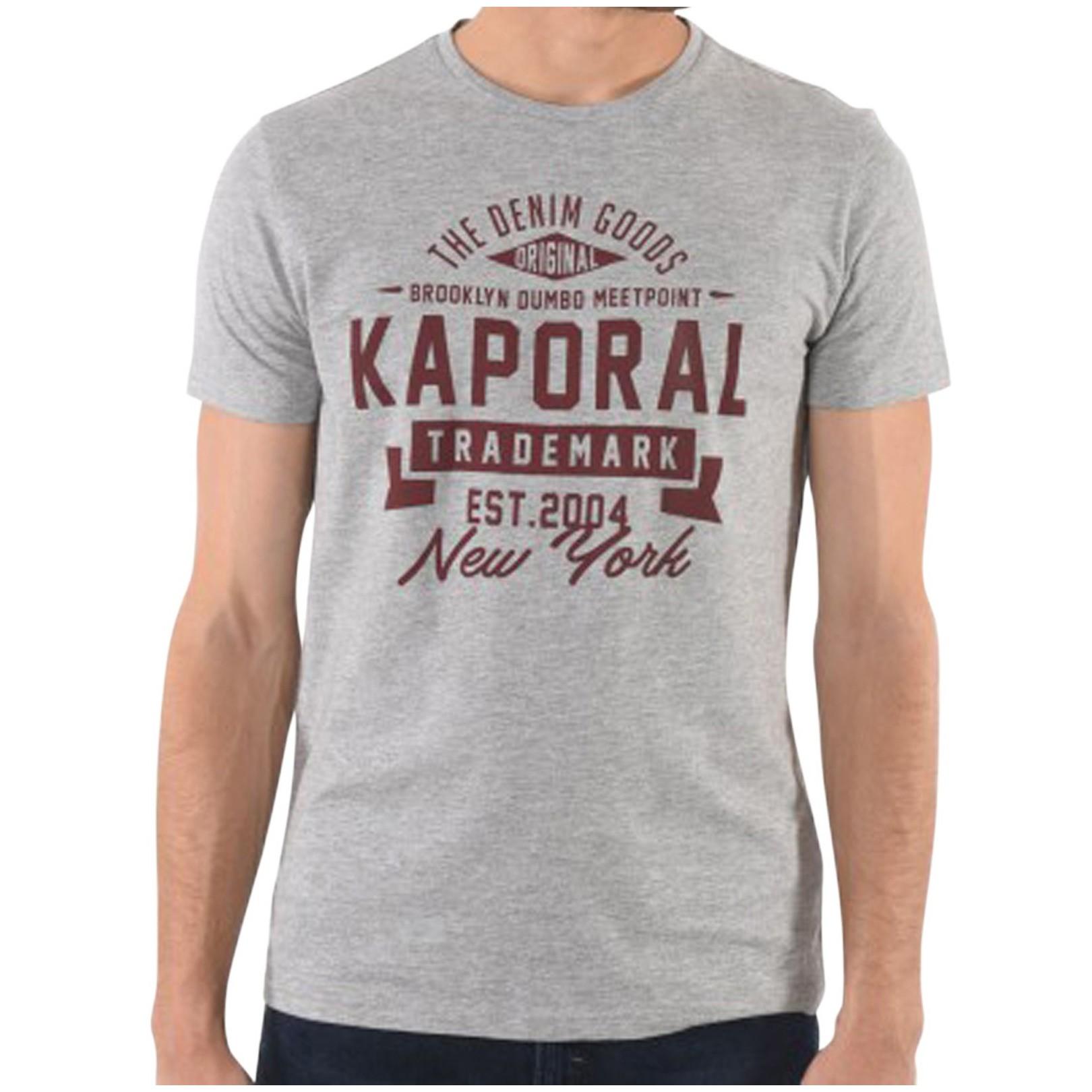 Tee Shirt Kaporal Mever Grey