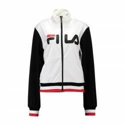 Veste Fila Track Jacket Skylar Bright White-Black