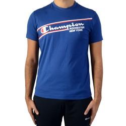 Tee Shirt Champion Tee 211391-BVU Bleu