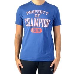 Tee Shirt Champion Tee 211394-BVU Bleu