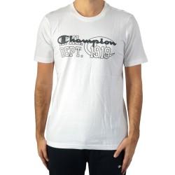 Tee Shirt Champion Crewneck Tee 11020535.1FG Bright White