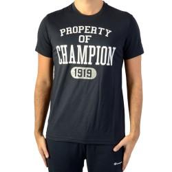 Tee Shirt Champion Tee 211394-NNY Bleu