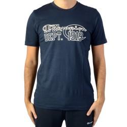 Tee Shirt Champion Crew neck Tee Bleu