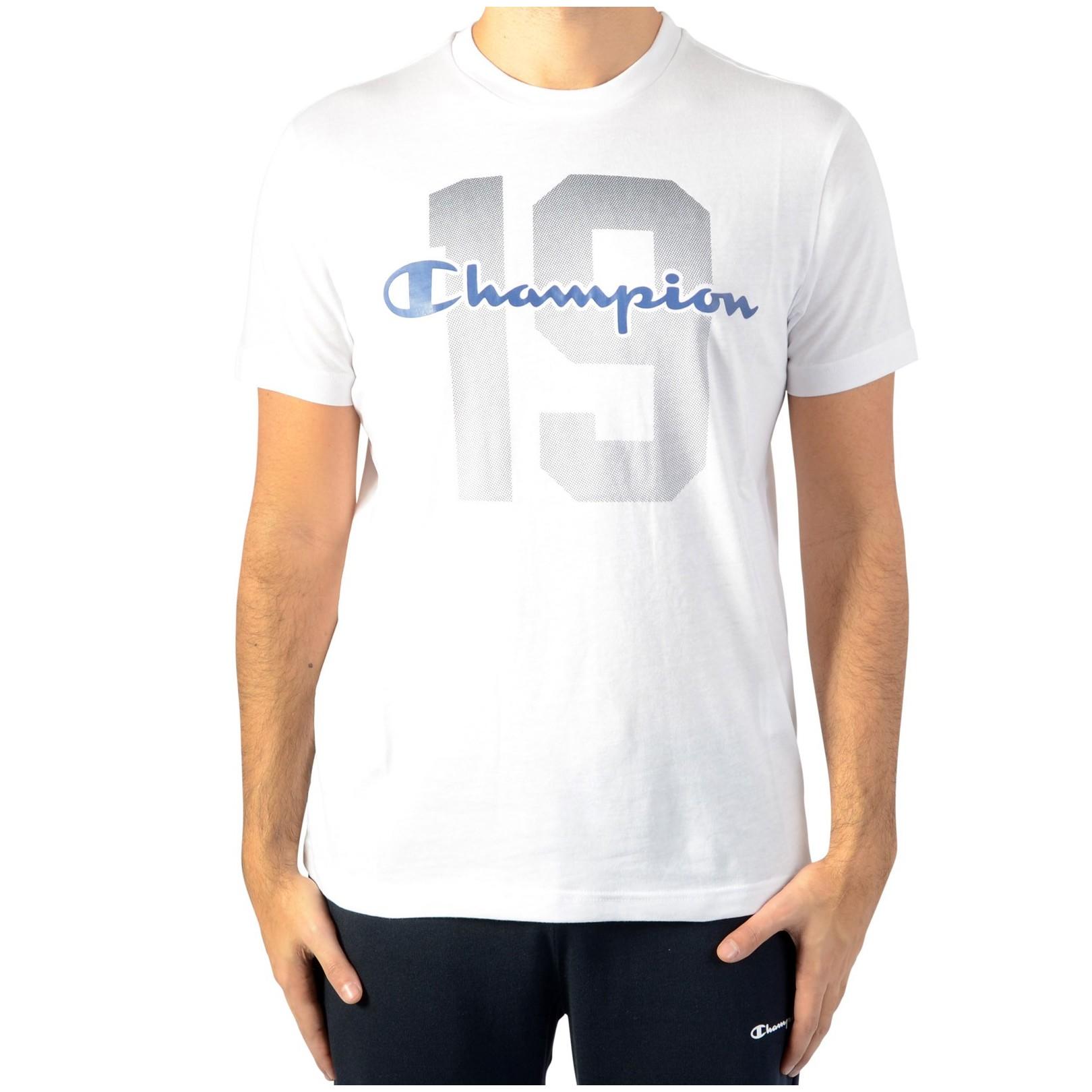 Tee Shirt Champion Tee211392-WHT Blanc