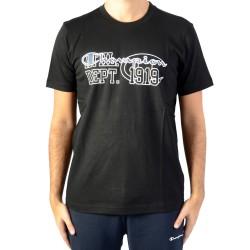 Tee Shirt Champion Crewneck Tee Noir