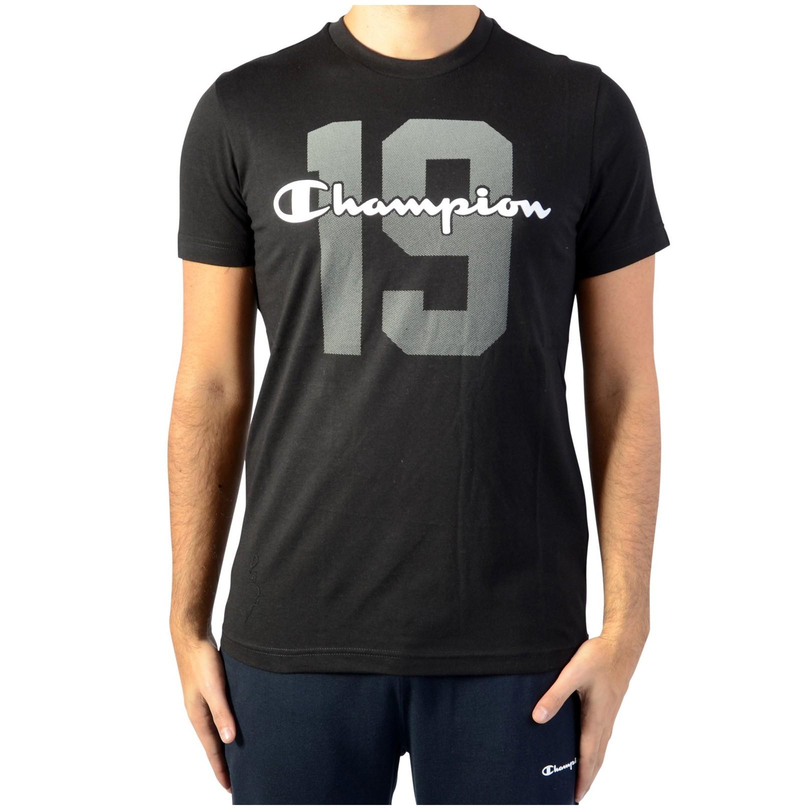 Tee Shirt Champion Tee211392-NBK Noir