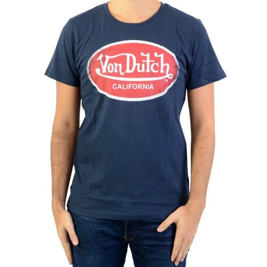 Tee Shirt Von Dutch Aaron Navy / Rouge