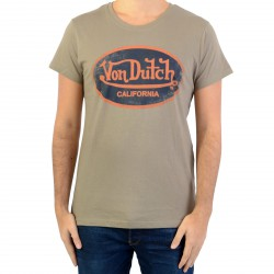 Tee Shirt Von Dutch Aaron Kaki/Navy