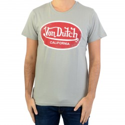 Tee Shirt Von Dutch Aaron Grey/Red