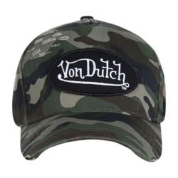 Casquette Von Dutch Camou 01