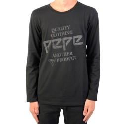 Tee Shirt manches longues Pepe Jeans Enfant Brown Jr