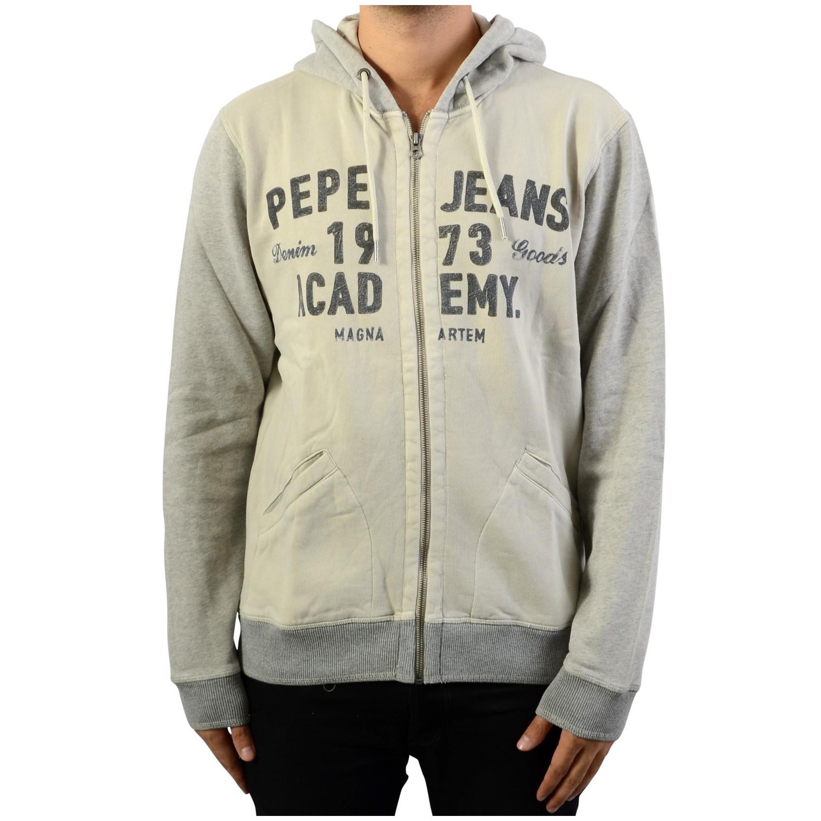 Sweat A Capuche Zippé Pepe Jeans Vinta
