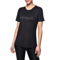 Tee Shirt Desigual Essiantials Tee 19SOTK27 2000