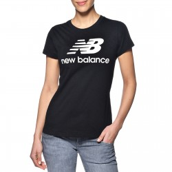 Tee Shirt New Balance Esse ST Logo Tee WT91546 BK