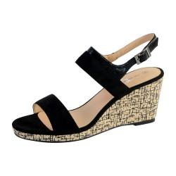 Sandale Compensée Femme The Divine Factory QL3615