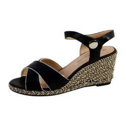 Sandale Compensée Femme The Divine Factory QL3616